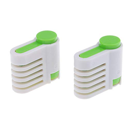2pcs 5 Layers Leveler Slicer Cake Slicer, Stratification Auxiliary, Bread Slice, Toast Cut Kitchen Fixator Too LPHY