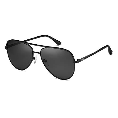 MVMT Maverick | Non-Polarized Women's & Men's Aviator Sunglasses | Matte Black