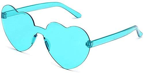 Zerotwo Retro Gläser Brille Herz Geformt Sonnenbrille für Hippie Schick Kleid Zubehör Valentinstag Karneval Party Brille Elegante Brillen Heart Sunglasses für Damen & Herren