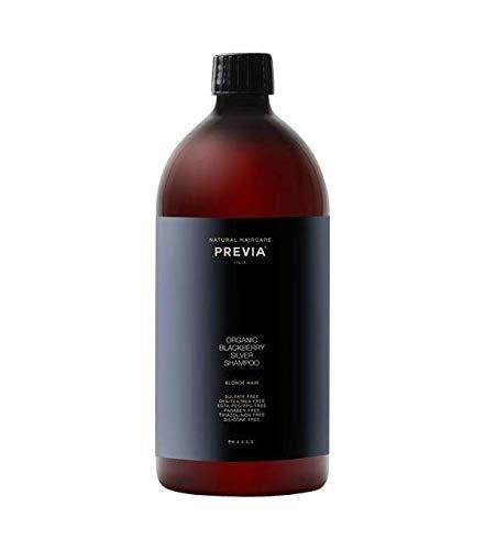 PREVIA Organic Blackberry Silver Shampoo 1 Liter