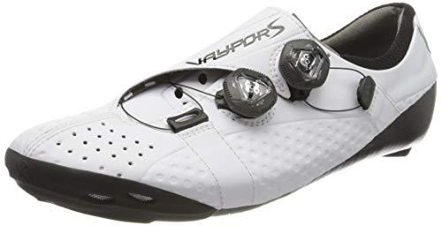 Bont Unisex-Erwachsene Rennradschuhe Vaypor S Radsportschuhe, Weiß (Weiss Weiss), 45 EU