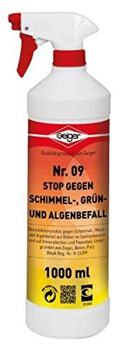 Geiger Chemie Nr. 09 Stop gegen Schimmel 1000 ml Flasche
