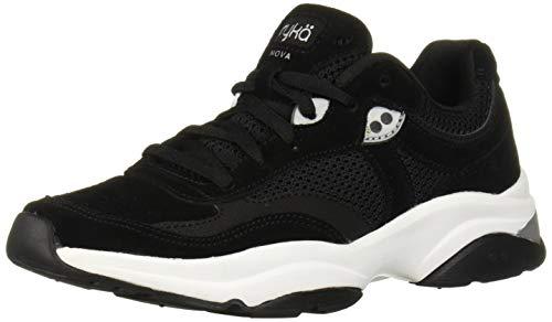Ryka Women's NOVA Walking Shoe, Black, 11 W US