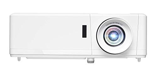 Optoma HZ39HDR Laser Home Theater Projector with HDR   4K Input   4000 lumens   Lamp-Free Reliable Operation 30,000 hours   Easy Setup with 1.3X Zoom   Quiet Operation 32dB   (Renewed)