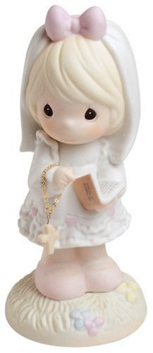Precious Moments, This Day Has Been Made In Heaven, Bisque Porcelain Figurine, 523496
