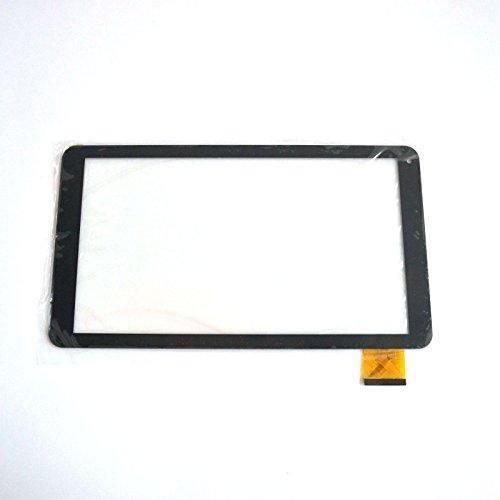 Negro EUTOPING ® De Nuevo 10.1 Pulgadas Reemplazar Pantalla tactil Digital para WOXTER QX 105