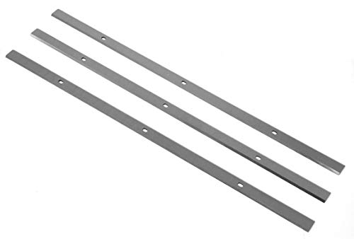 WEN BP133K 13-Inch Japanese Carbon Steel Replacement Planer Blades, 3 Pack