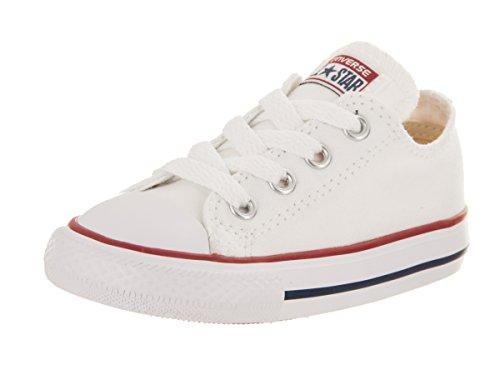 Converse Ctas Core Ox 015810-21-3, Unisex - Kinder Sneaker, Weiß (Blanc Optical), EU 21