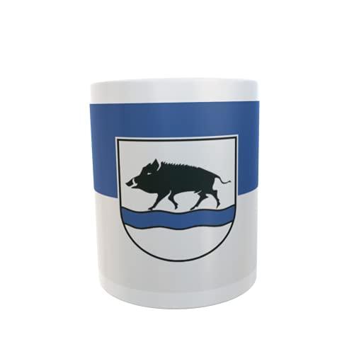 U24 Tasse Kaffeebecher Mug Cup Flagge Eberbach (Baden)