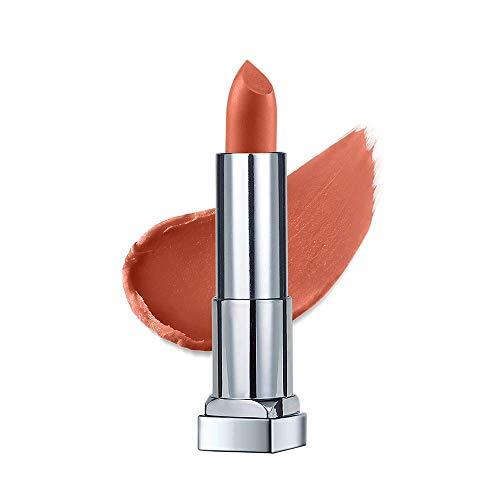Maybelline New York Color Sensational Creamy Matte Lipstick, The Bricks- City Heat Collection, Soho Nudes 4, 3.9g