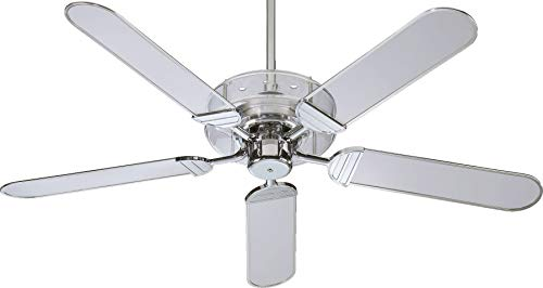 Quorum 400525-14 Prizzm - 52 Inch Ceiling Fan, Chrome Finish...
