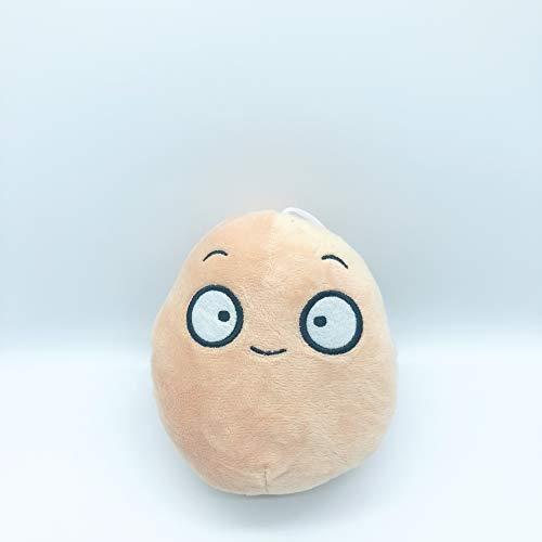 DOUFUZZ SNHPP Zombie Puppe Plüsch Puppe Puppe Kind Puppe Spiel Anhänger Grab Geschenk 10-20CM0.1KG Kartoffeln