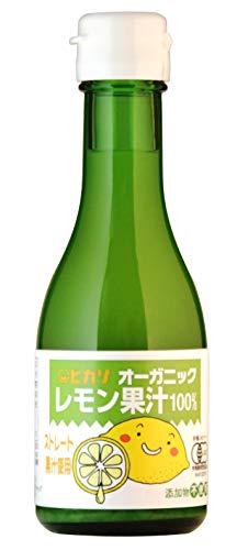 光食品 オーガニック レモン果汁 180ml
