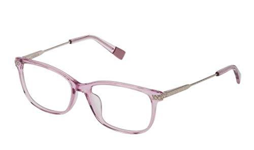 FURLA occhiale da vista VFU354 06PF LILLA TRASPARENTE LUCIDO rettangolare donna