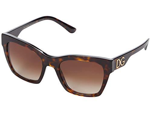 Dolce & Gabbana DG4384, (Marco Havana/lente marrón degradado.), Talla única