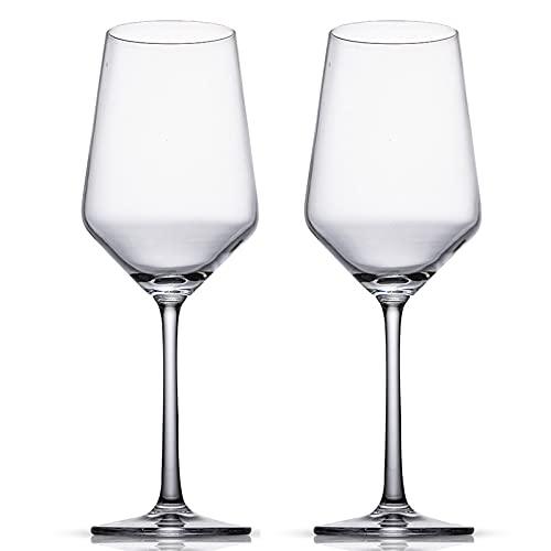 Copa de Cristal de Cristal de Vino de Cristal Hogar Grande Personalidad 2pcs Pareja Conjunto Creativo Lujo Bar Vino Conjunto de vinos,430ml