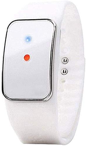 Elektronische ultrasone muggenspray armband veilig waterdicht verstelbaar intelligent muggenspray polsbandjes voor kinderen babys volwassenen buiten en binnen zwart-Wit Excellent