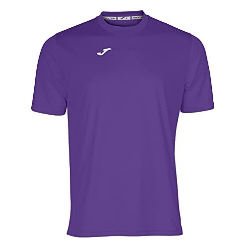 Joma Combi Camiseta Manga Corta, Hombres, Morado (Violeta), M