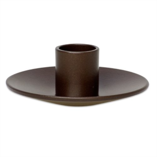 Northern Lights Candles ,  Taper Holder Small Single, Bronze