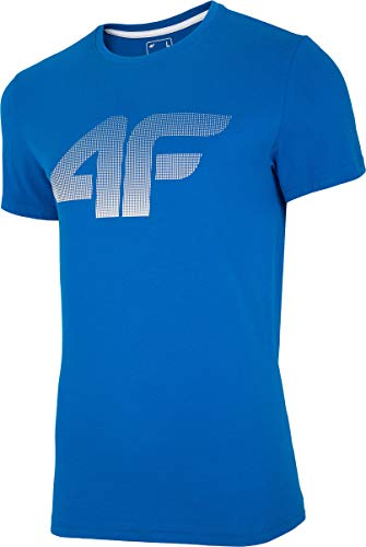 4F Flemming T-Shirt pour Homme Cobalt XXL