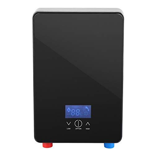 Hongzer Scaldacqua istantaneo, Display della Temperatura a LED Scaldacqua Elettrico istantaneo Senza Serbatoio con Funzione di spegnimento Automatico