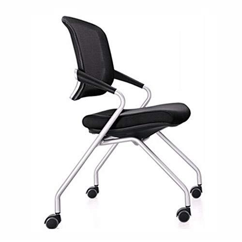 YSXFC ligstoelen bureaustoel met universeel wiel mesh rugleuning ademend en zweetabsorberende metalen beugel comfortabele katoenen pad