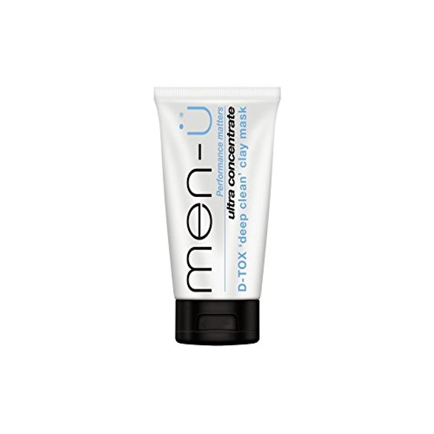 入植者価格ネイティブMen-? D-Tox Deep Clean Clay Mask (100ml) (Pack of 6) - 男性- -深いクリーンクレイマスク(100ミリリットル) x6 [並行輸入品]