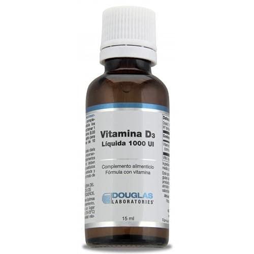 Vitamina D Líquida - Laboratorios Douglas - 1000 UI. 15 ml.