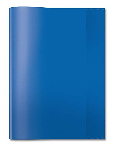 HERMA 7493 funda para libros y revistas - fundas para libros y revistas (Azul, Polipropileno (PP), Unisex)