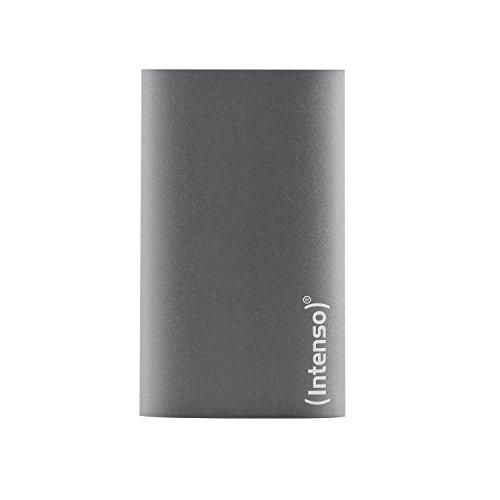 Intenso Portable SSD 128GB Premium Edition USB 3.0 Externe SSD Festplatte Aluminium anthrazit