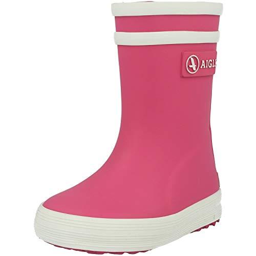Aigle Unisex-Kinder Baby Flac Gummistiefel, Pink (Rose New), 22 EU