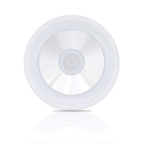 Nachtlicht bewegingssensor - 3 * AA-batterijgevoed, zelfklevend, hangbaar - Bewegingsgestuurd nachtlicht Warm witte LED-lamp voor slaapkamer Badkamer Keukenkast Garderobe Hal Trap