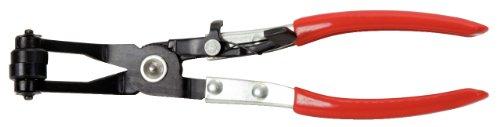 KS Tools 115.1042 Tenazas para abrazaderas de mangueras click (tamaño: 220 mm), 65mm