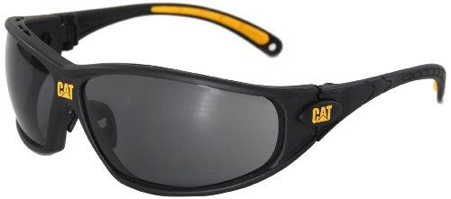 CAT CSA-TREAD-104 Safety glasses Negro, Amarillo gafa y cristal de protección - Gafas de seguridad (Safety glasses, Negro, Amarillo, Negro) ⭐