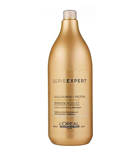 Loreal Expert Absolut Repair Gold Quinoa Protein Champú Reestructurante - 1500 ml