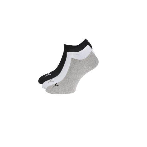 PUMA Sneaker Invisible , Größe:39/42; Farbe:grau/weiß/schwarz; Pack:9er Pack