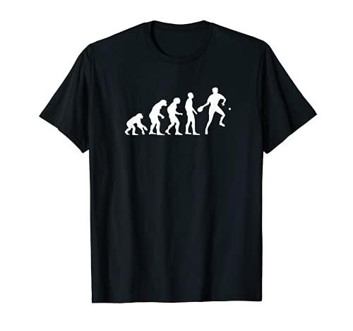 Lustiges Tischtennis T-Shirt | Evolution Tischtennisspieler