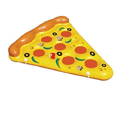 Colchoneta en forma de pizza- impresión realista – mide 180x150 cm