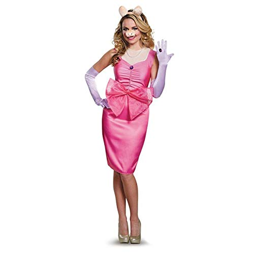 The Muppets Miss Piggy Deluxe Costume Adult Small 4-6