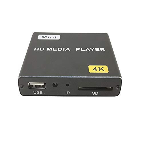 Great Deal! Huangchengxing 4K HD Player Single AD Machine Power on Automatic Loop Play Video PPT