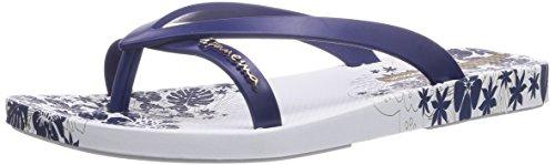 Ipanema Damen Fashion Kirey II Zehentrenner, Weiß (White/Blue 23733), 39 EU