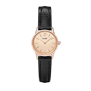 CLUSE Womens Analogue Classic Quartz Connected Wrist Watch with Leather Strap CL50028