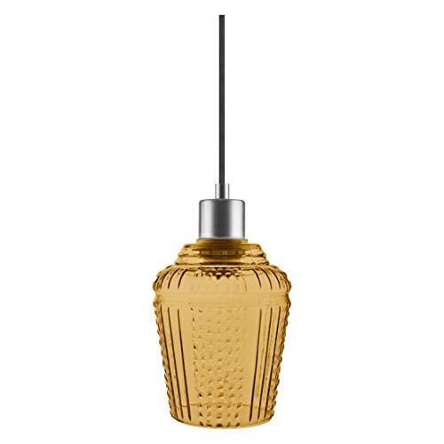 LEDVANCE Vintage Edition 1906 - Lámpara de techo con casquillo E27, cristal...