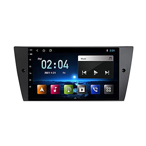 MGYQ Radio De Coche Reproductor Multimedia con Android 10 Y Navegación GPS Autorradio 2 DIN con Reproductor De Vídeo, para BMW E90 E91 E92 E93 2005-2012 Soporte Carplay DSP,Quad Core,WiFi 1+16