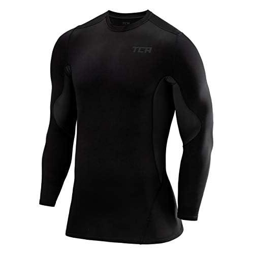 TCA Men's SuperThermal Compression Base Layer Top Long Sleeve Thermal Under Shirt