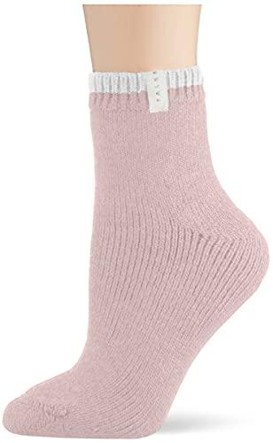 FALKE Damen Cosy Plush W SO Socken, Rosa (Rosewater 8666), 35-38 (UK 2.5-5 Ι US 5-7.5)