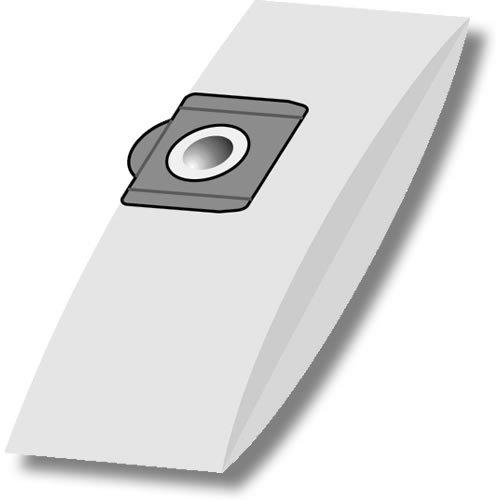 eVendix Staubsaugerbeutel passend für Einhell INOX 1250, 1250/1 (R), 10 Staubbeutel, kompatibel mit Swirl R23