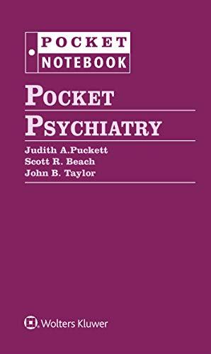 Pocket Psychiatry (Pocket Notebook Series)