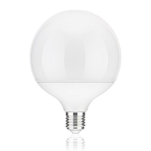 ledscom.de E27 LED Globe Bombilla G120 (12cm Kopfdurchmesser) 17W =104W 1400lm 230° Blanca (4100K)