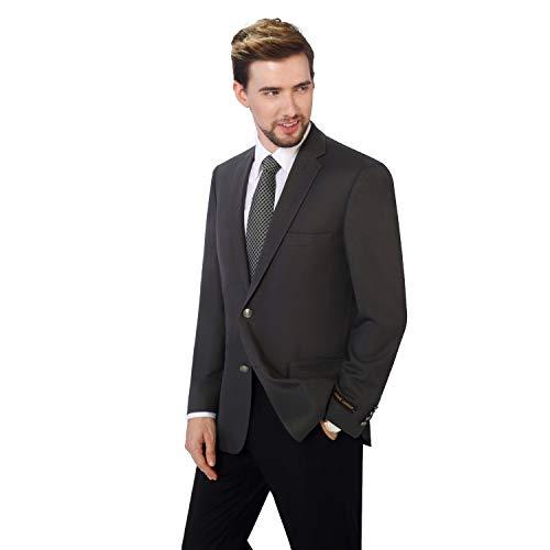 THWEI Mens Velvet Blazer Slim Fit Solid Blazer Sport Coat(Red-XL)
